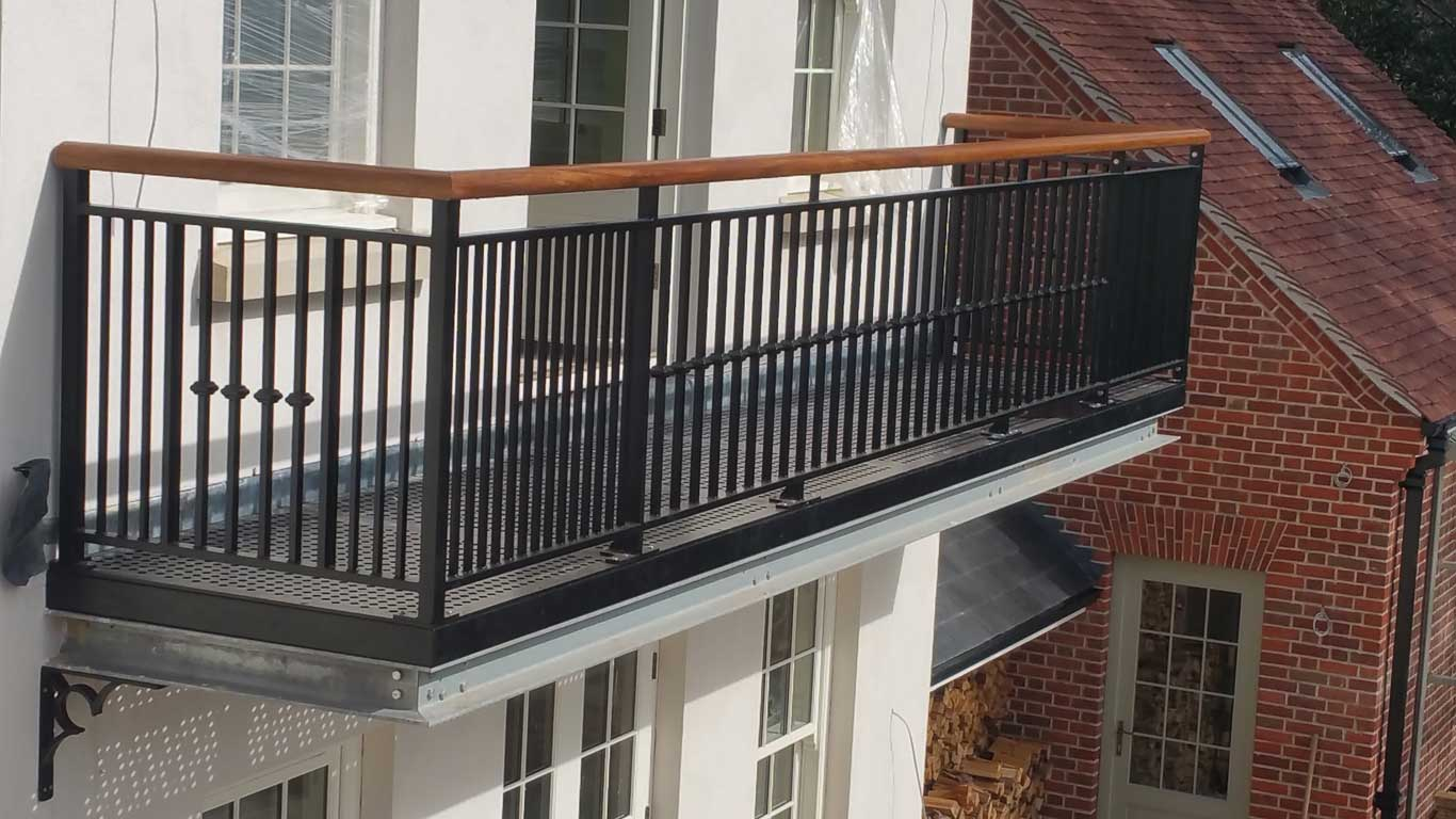 Stainless Steel Balconies New Forest Metal Work