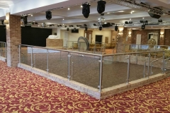 ballroom-dance-floor-glass-stainless-steel-surround