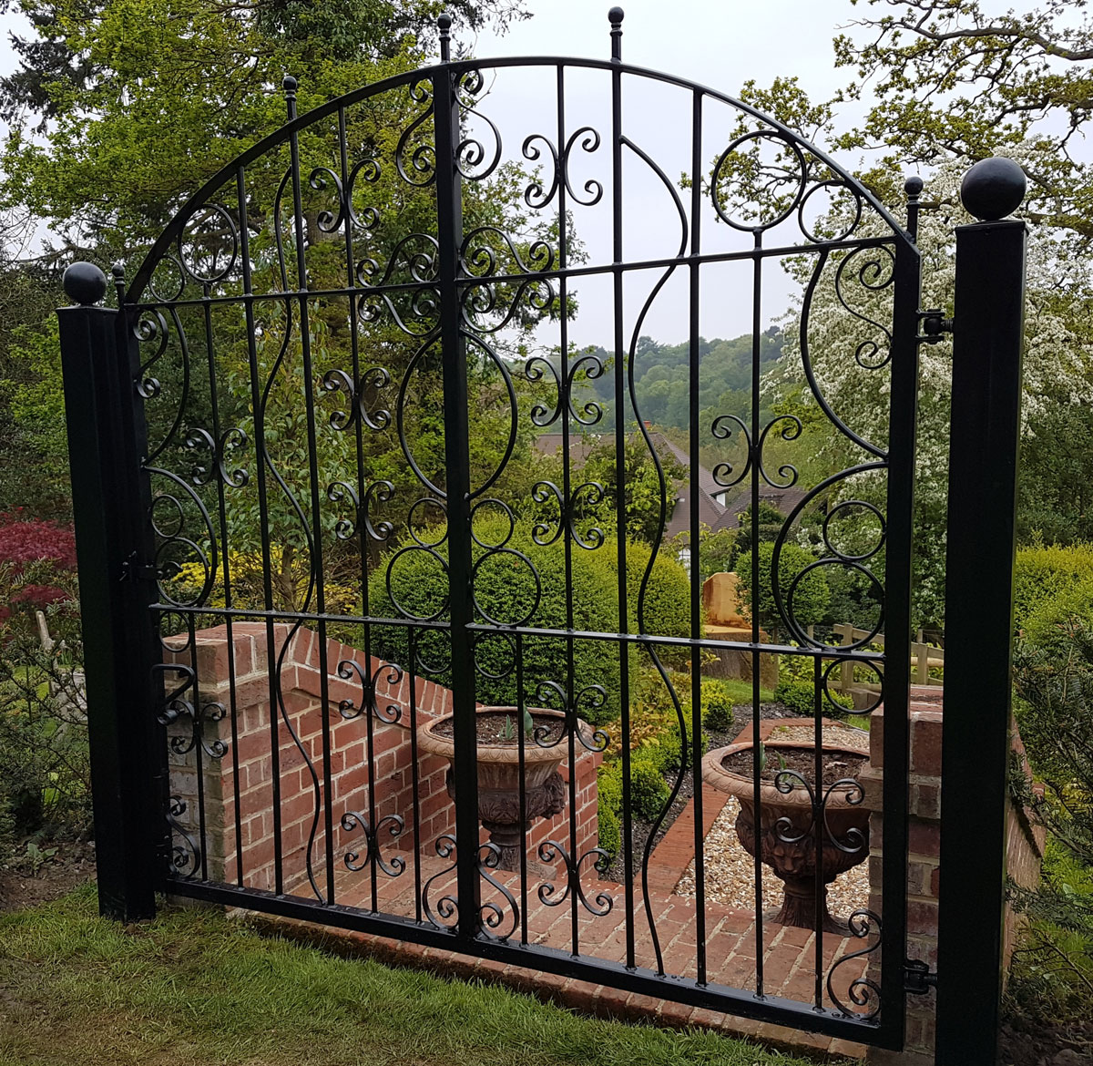 Wrought Iron Gates And Steel Barriers