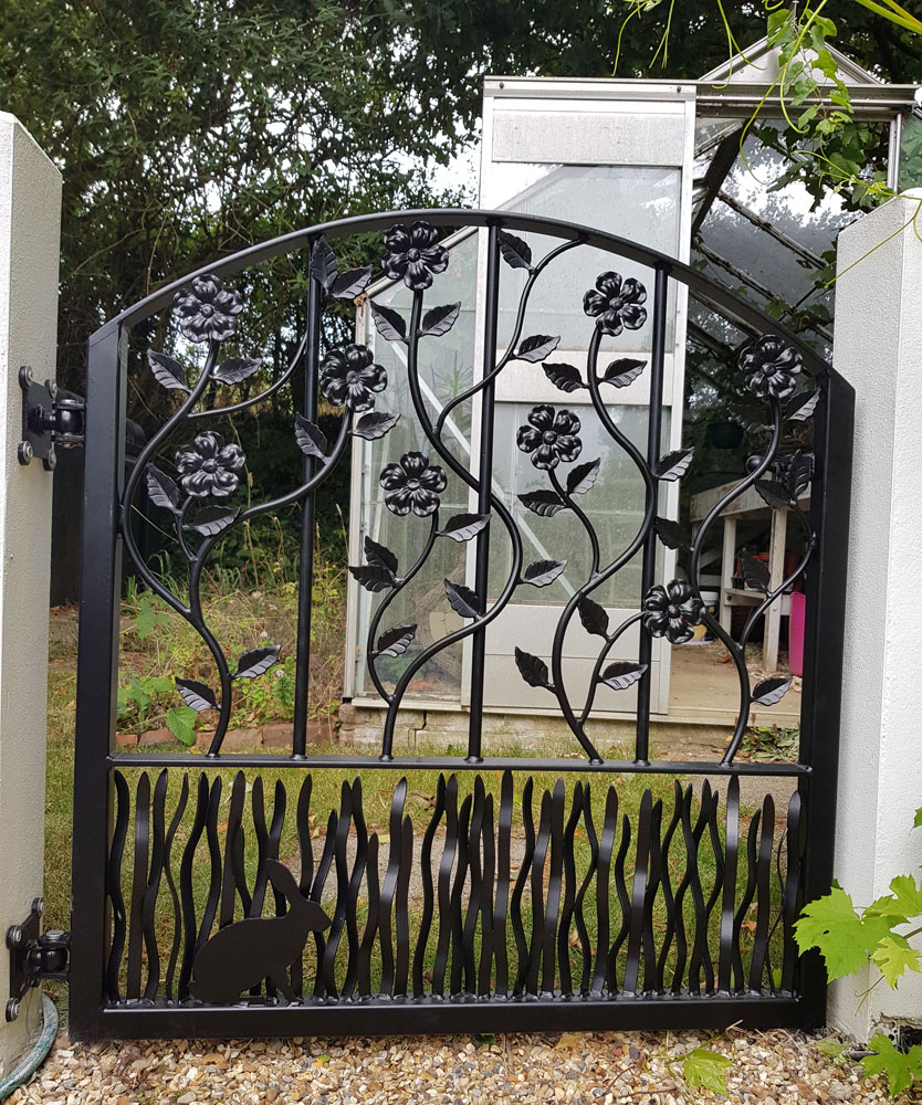 Wrought Iron Gates: Wrought Iron Gates And Steel Barriers