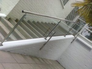 Galvanised Steel Railing