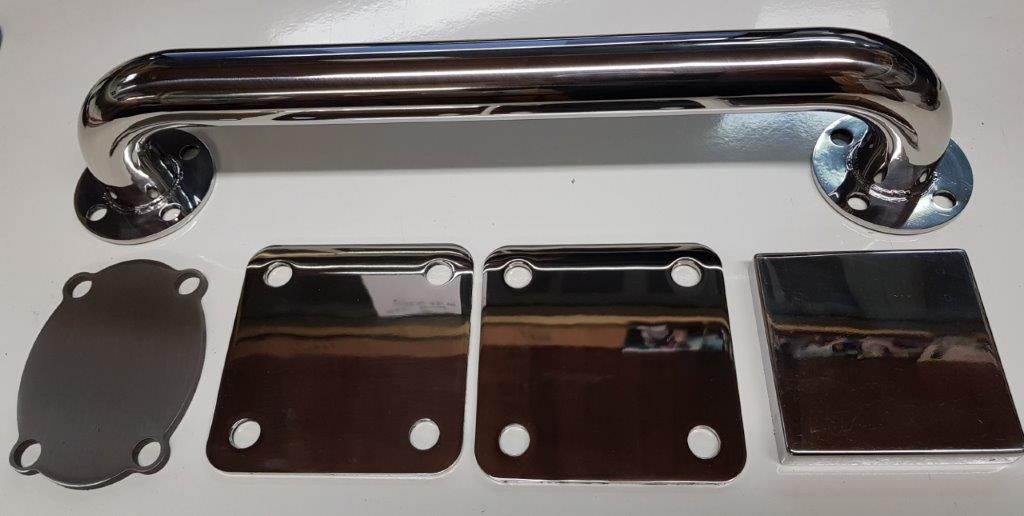 Stainless steel metal polishing